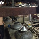 REAL old school Cambodian distillation in progress!