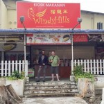 Every visit to our distillation plant includes an obligatory stop at Windy Hills, where they serve the yummiest food on earth: tempura-battered, deep-fried Durian!